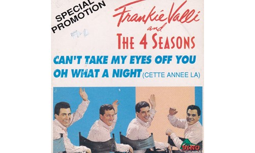 CAN'T TAKE MY EYES OFF YOU  (FRANKIE VALLI-THE 4 SEASONS)